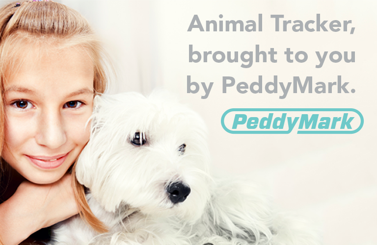 Animal Tracker pet microchip database is brought to you by PeddyMark