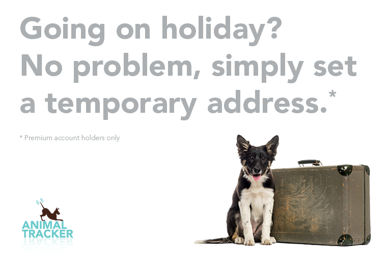 Add temporary keeper addresses for your pets when you go on holiday